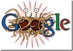 google thumb Google logo turns into dancing animation