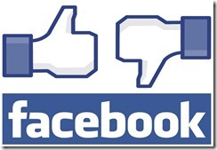 Facebook Like or Dislike thumb Friend your boss at your peril