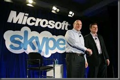 Microsoft and skype thumb Microsoft ditching MSN chat for Skype